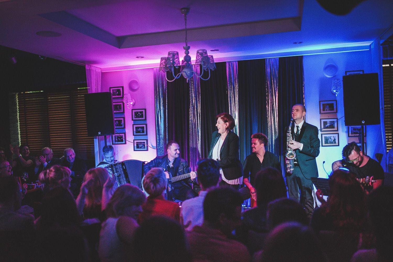 Urszula Dudziak w Jazz Club Papaja w Ełku